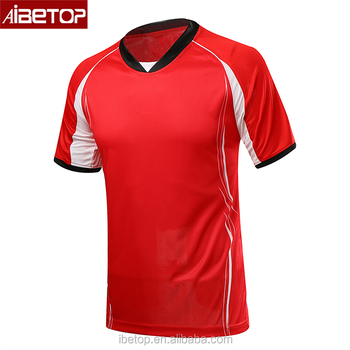 a1028d7877fb1 2018 Factory price OEM liberia national soccer team jersey,red and white  football jerseys,