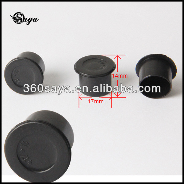 Wholesale Best Quality Black Flat Bottom Tattoo Pigment Cup