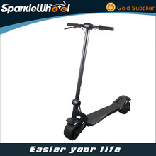 wide wheel 8inch 500W 48V 2 wheel stand up big wheel electric scooter