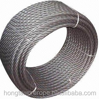 7x19 Fiber Core Stainless Steel Wire Rope 1.5mm-30mm - Buy 7x19 ...