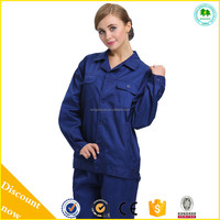 Protection uniforms for worker, working uniform for engineer, uniform for women