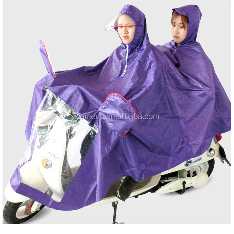 Printed raincoat for motorcycle riders/motorcycle rain coat
