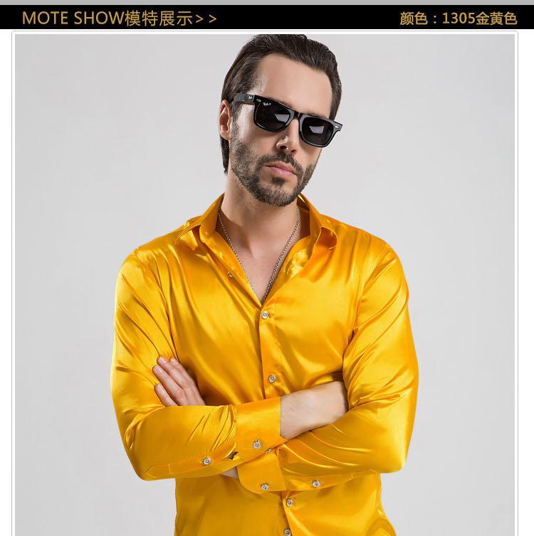 6fcf008d Wholesale Men'S Shirt Show Bright Costume Party Men Dance Chorus ...