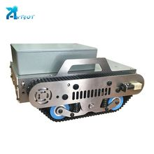 China suppliers line follower robot light tracking system large tracked vehicle chassis kit