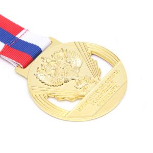 Shakespeare metallic bookmark cheap metal blank sports best friend plastic  gold academic award medals for souvenir