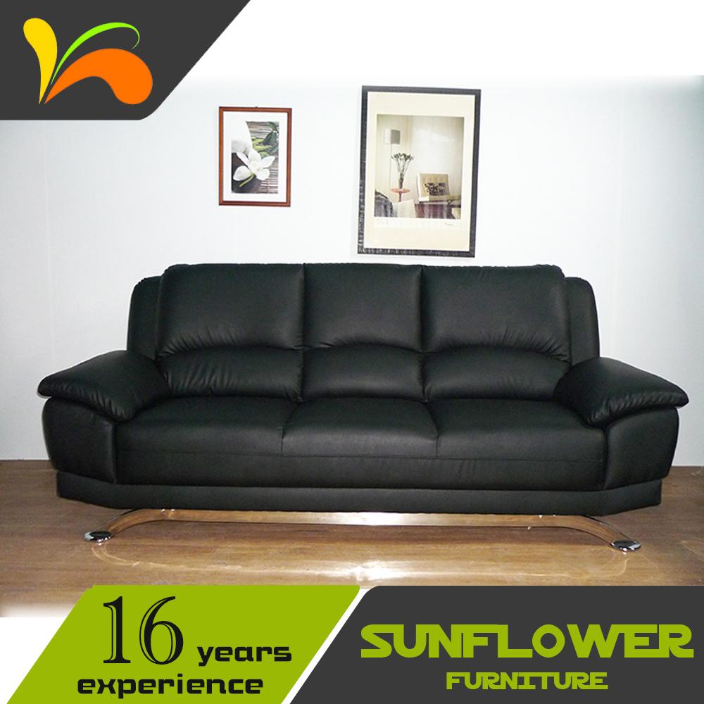 Precio Fijo sintético moderno muebles de cuero sofá de la Sala Set ...