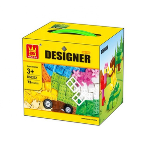 WANGE educational DIY Creative Designer - Big Brick Style The best for kids !