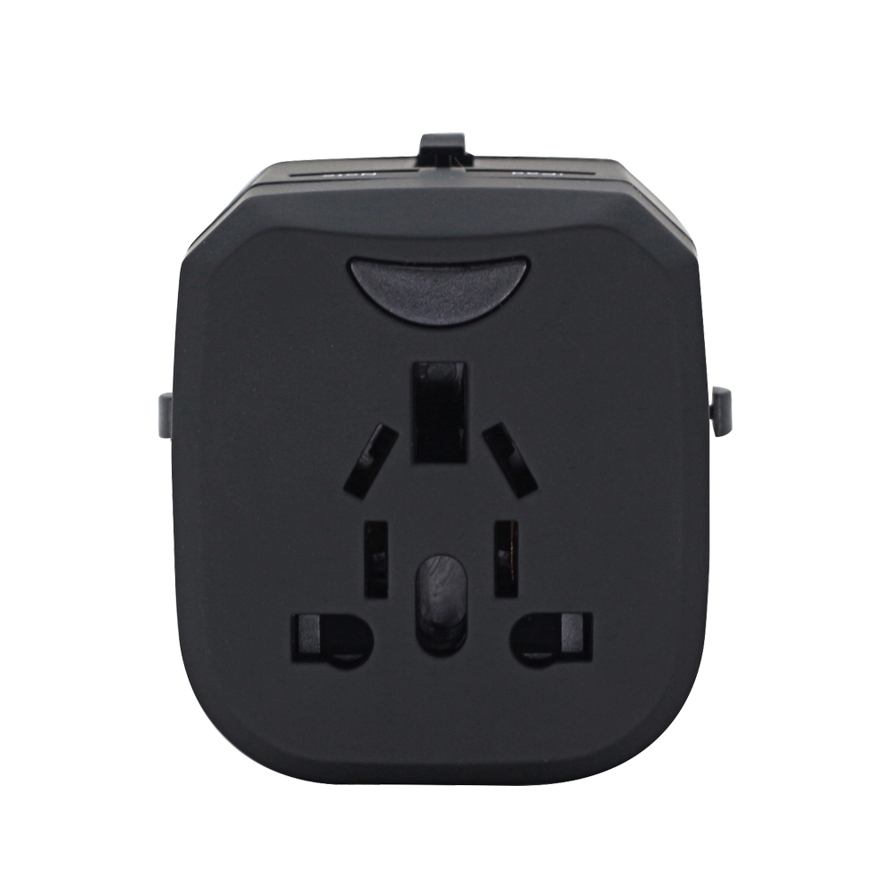 Multi-function smart with 2 USB charging popular universal m&s travel adaptor