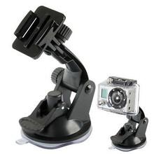 Go pro Accessories 7cm Car Mount Base Dashboard Windshield Vacuum Suction Cup for Gopro Hero 4 3+2 sj4 Sjc Xiaomi Yi camera GP17