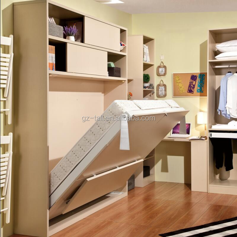 Hot sale transformable furniture vertical wall bed - Meubles pour petits espaces ...
