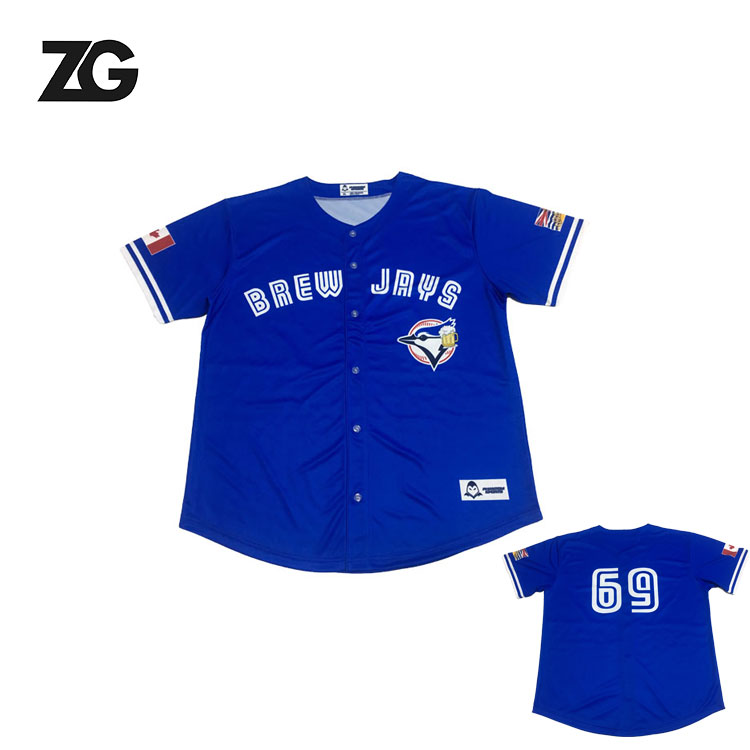 China Custom Factory Mens completa Sublimação Baseball Jersey Atacado Baseball Custom Jersey