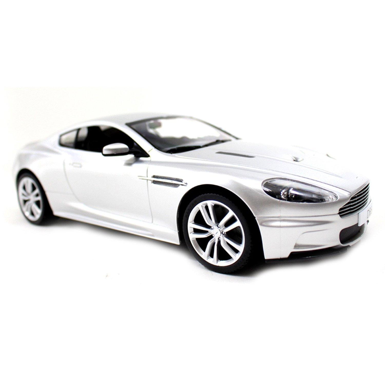 "13.5"" 1:14 Aston Martin DBS RC Radio Controlled - Silver"