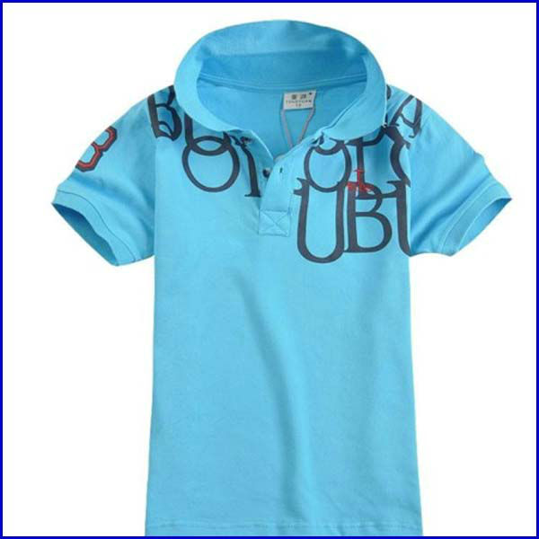 export top quality child summer t shirt