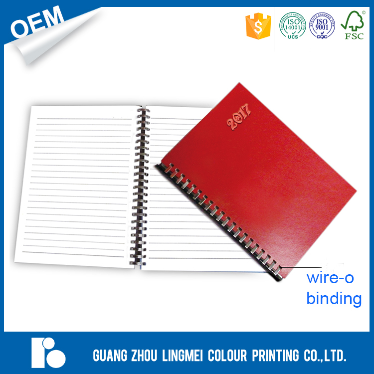 High quality and fast delivery China supplier hardcover gold foil office notebook printing for meeting record