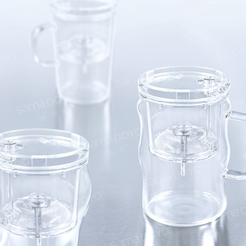 office cups. High-end Glass Teacups, Personal Office Cups/ Mugs, Tea Infuser Cups