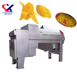 Mango Seed Processing Machine used for Mango Pure Puree Thailand Mango peeling and pitting machine