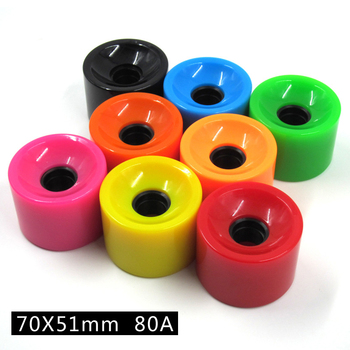 54mm custom polyurethane skateboard wheels