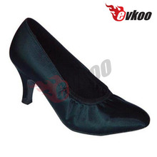 Comfortable low heel one sole shoes soft sole ballroom dance shoes