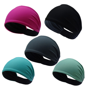 Wholesale Fashion Autumn Winter Sport Headband Yoga Black Headband Elastic Sporting Fitted Solid Color Headband