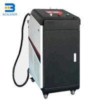 High efficiency factory sale paint oil rust removal laser cleaning machine system 1000W 500W 200W 1000W 50W