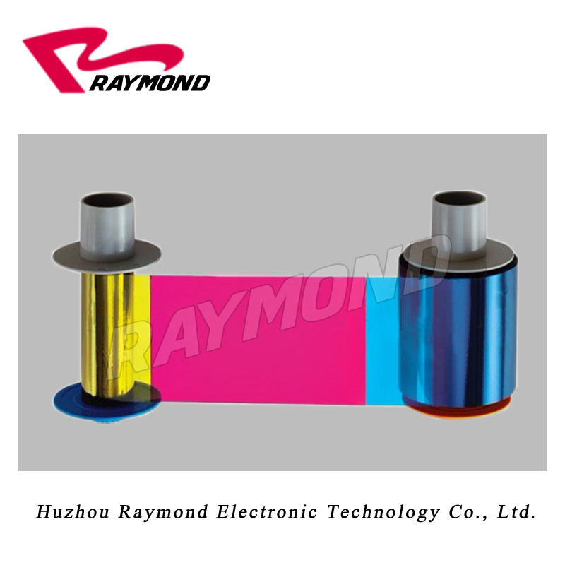 Original 5pcs 84011 YMCK Color Ribbons + 2pc 84033 Clear HDP Films,for HDP600 HDP600-LC HDP710 HDP820 Card Printers