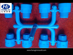 Plastic Female And Male Adapter/ Elbow PPR Pipe Fitting Mould