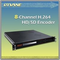 Alibaba Digicast Brand Encoder DTV Broadcasting H.264 Hardware Encoder for Radio TV Broadcast Headend