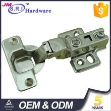 China supplier four hole plate cabinet door hinge
