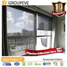 Indoor Outdoor Polyester Waterproof Sun Shade Fabric