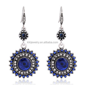 Ladies Jewellery Colorful Bohemian Earrings Big Jhumka Womens Earrings