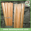 Varnish painted wooden rake handle made in China