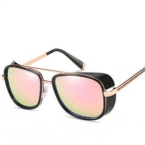 b316cf4534c Iron Man 3 Matsuda TONY stark Sunglasses Men Rossi Coating retro Vintage  Designer Sun glasses Oculos Masculino Gafas de