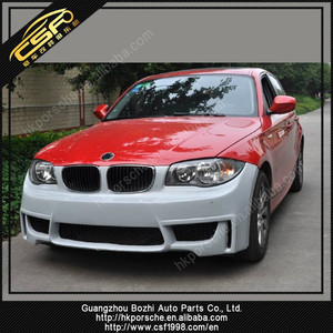 2008-2011 bm 1series E87 body kit upgrade M1 with PP material