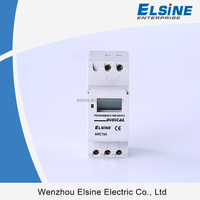 Din-rail mounting 28ON/OFF Weekly programmable timer switch Digital time switch THC15A THC30A