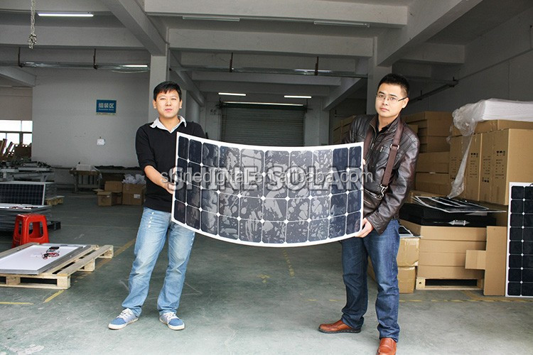 High efficiency mini flexible solar panel 12v with USB port charge for Sanaung, iPhone, iPad