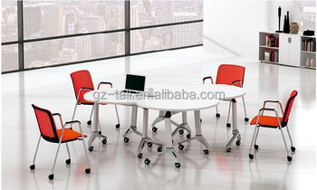 Modular Office Furniture Combination Portable Small Folding Meeting - Modular meeting table
