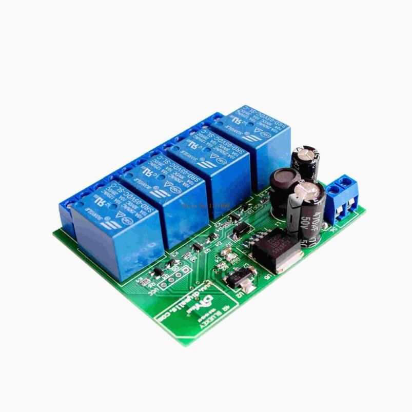 Replacement Parts & Accessories Reasonable Zl-rc08 8 Channel Bluetooth 4.1 Ble Relay Module Switch 4-way Switch Input With Isolation Industrial Grade Ibeacon Back To Search Resultsconsumer Electronics