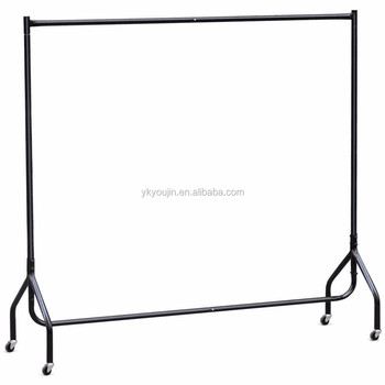 diy portable garment rack