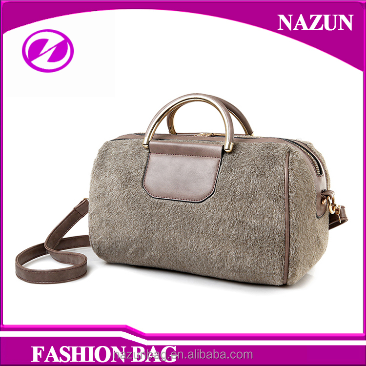 Wholesale leather factory bag dropshipper woman pu leather handbag