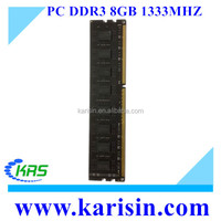 Factory wholesale PC 10600 desktop memory ram DDR3 8GB 1333