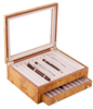 Handmade High Quality Wooden Pen Display Box
