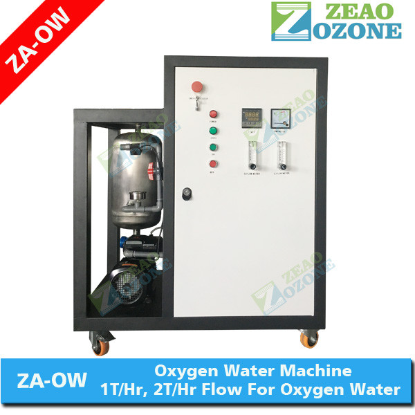 Dissolved oxygen water making machine with micro bubble mixing pump for oxygenated drinking water