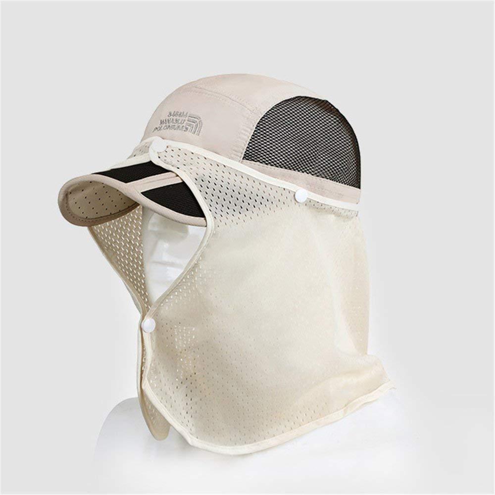 3cc530b7970 Get Quotations · New-Hi Quick-dry Waterproof Unisex Fishing UV Protection  Sun Visor Folding Hat 360