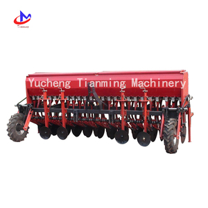 New type wheat seeder with fertilizer box