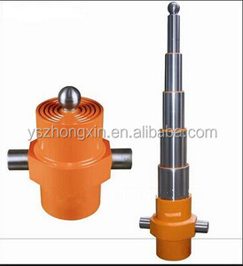 telescopic hydraulic cylinder 5 stage long stroke hydraulic cylinder