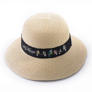 Hot sell spring summer custom accessories support OEM simple cheap straw hat body