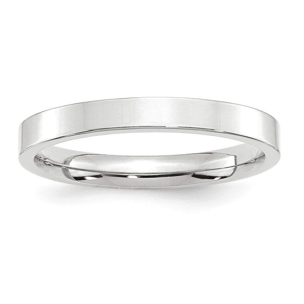 Jewelry Best Seller 14KW 3mm Standard Flat Comfort Fit Band Size 9