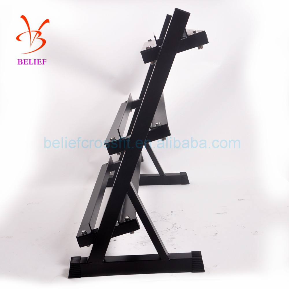 Hot Sale Commercial Fitness Equipment Gym Power Storage Rack/Dumbbell Weight Rack