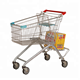 New designed electric shopping trolley cart