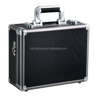 Ningbo Factory Portable metal tool box hard aluminum cargo box with custom foam